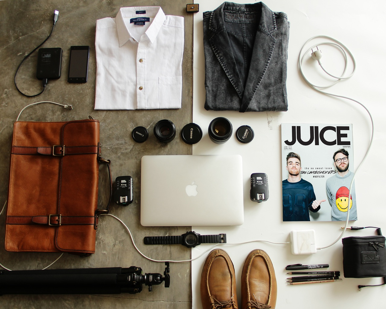 Outfit Travel grid